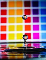 water drop by riorr