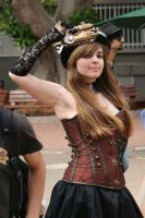 Steampunk girl by Hot-cocoaX3