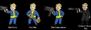 More Pip-Boy Icons by Deathbymodding