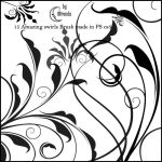 Swirls III Brushes by Coby17