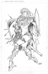 Red Sonja by Jonboy007007