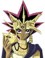 Pharaon Atem Colored by usagisailormoon20