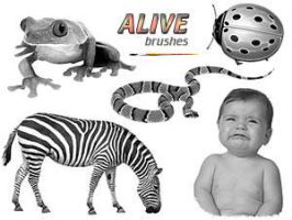 PS Brushes - Alive by par-me