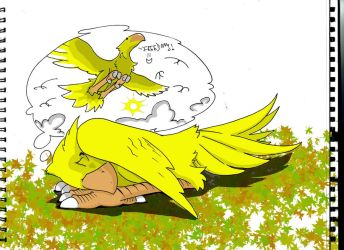 Chocobos Ruletheworld4 by PSX2010