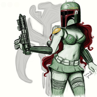 The Deadly Bounty Hunter by Kyowell