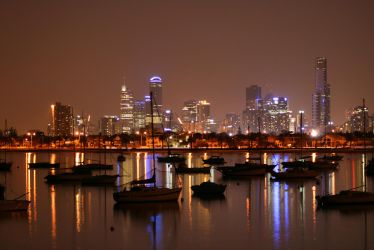 City of Lights by monteycarlos