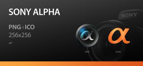 Sony Alpha Icons by 5-G