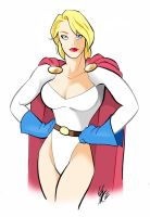 powergirl by gambaryance