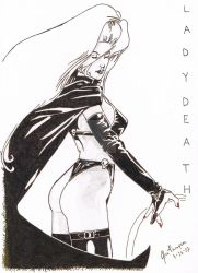 Lady Death by oneunlucky13