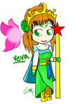 Chibi for Link of the Twilight 4 - Veva by FreakOfLove
