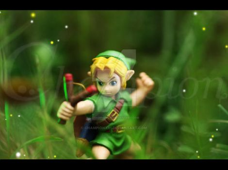 LoZ OOT Young Link - toy by Championx91