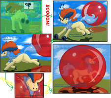 Captured within an Anti-Keldeo Rubber Balloon by Kinipharian