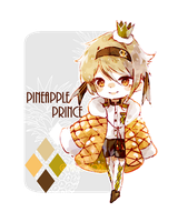 [closed] Auction: Pineapple Prince + gift art by aoneir