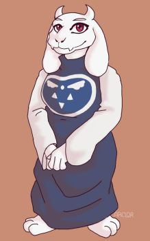 Toriel by arclor087