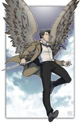 Commission - Castiel by DeanGrayson