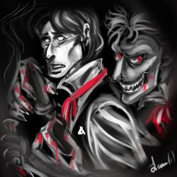 Dr Jekyll and Mr Hyde by FidisART
