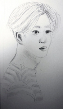 Suho portrait by fred-xo