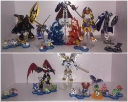 My Digimon figure Collection... so far by neoarchangemon