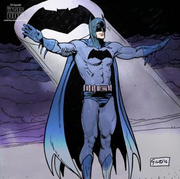 The Batman - Inks and Color by ruso