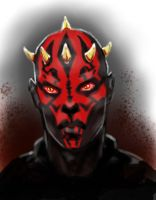 Darth Maul by izzathafiz