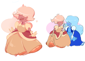 padparadscha by questionedSleeper