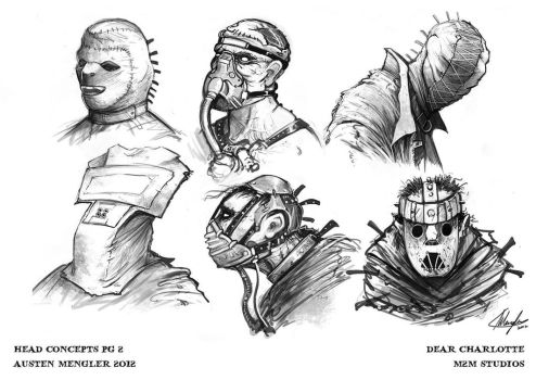 Psycho Head Concepts 02 by AustenMengler