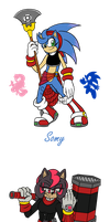 Sonic Fusions by SallyVinter