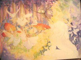 Enchanted WIP by JoannaBromley