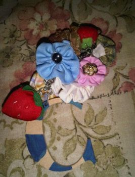 Flower Key Chain by magreen