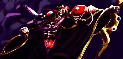 Warmup - Ainz Ooawl Gown by pgeronimos