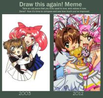Draw this again Meme by sinister-puppet