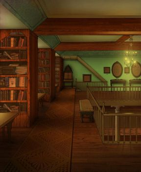 Old Library by Si1verange1
