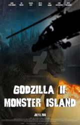Godzilla II: Monster Island (helicoptor, light) by Konack1