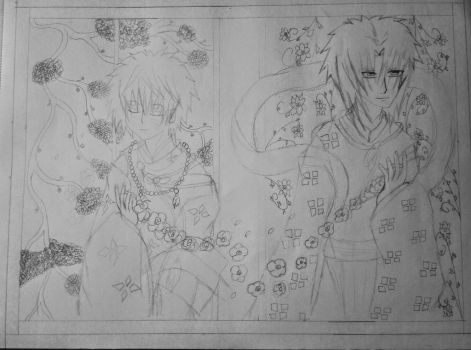 SasuNaru. Flower Chain. ( rough ) yaoi by XxYaoiIsMyDrugxX