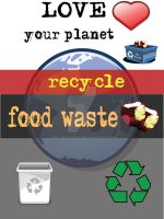 Recycle: food waste by M0lybdenum