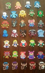 Hyrule Warriors sprites: complete collection by Pika-Robo