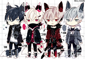 [SETPRICE*CLOSED]Lineheart*9 by Relxion-kun