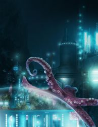 Squiddy the Octopus by Asynja