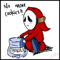 Shy Guy No Cookie by twilinympho