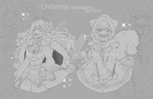 [CLOSED] Christmas Adoptable by WhiteLie-Adopt