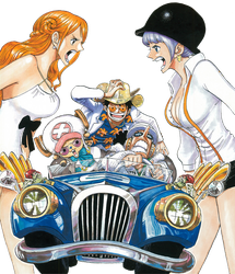 Chapter 832 - Luffy and others transparent by Claudia-Cher