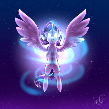 A new pair of wings - Starlight Glimmer by sonigiraldo