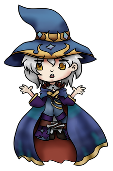 TI: Totally not a witch!Ashe... by begitte