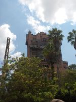 Hollywood Tower Hotel-WDW by phoenixjedi