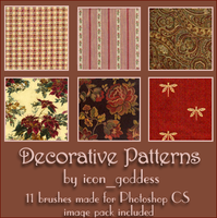 decorative patterns by vblackangelv