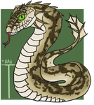 Sand Serpent by ReapersMenagerie