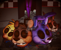 Five Nights at Freddy's 3: Broken Apart by AnimatronicBunny