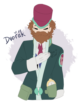 .:CLASSICALOID:. Dovo-chan by Drawing-Heart