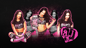 AJ Lee - Black Widow by RayeDarkwater
