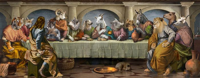The Last Supper by sololupo